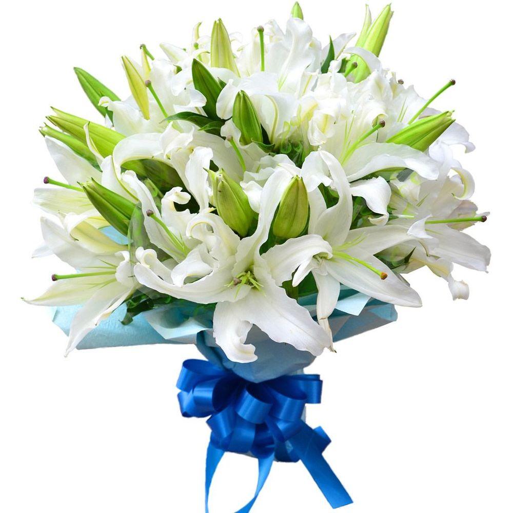 Лилии букет цветов